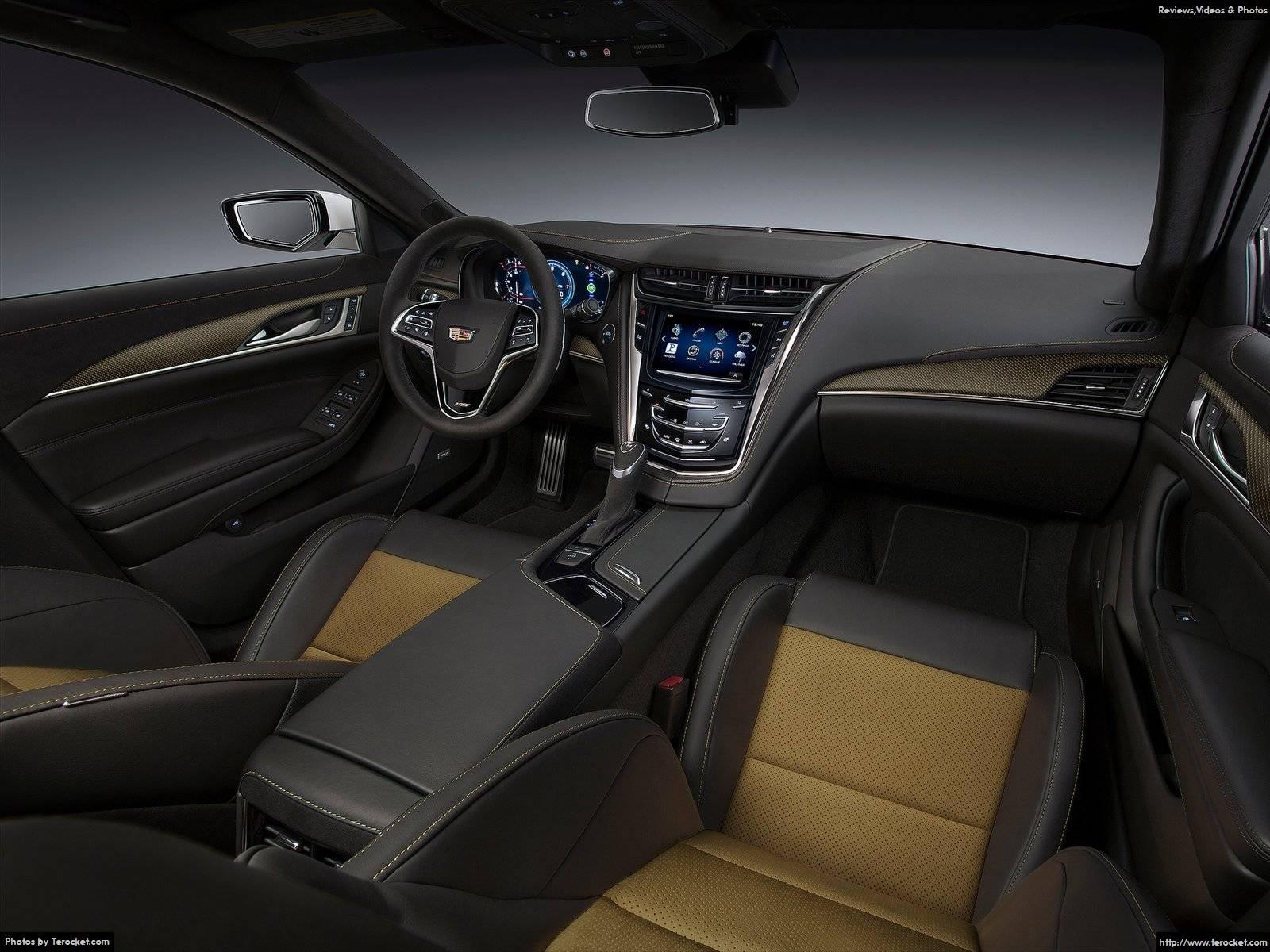 Hình ảnh xe ô tô Cadillac CTS-V 2016 & nội ngoại thất