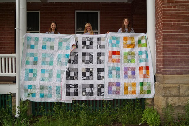 3 Charm Square Quilts