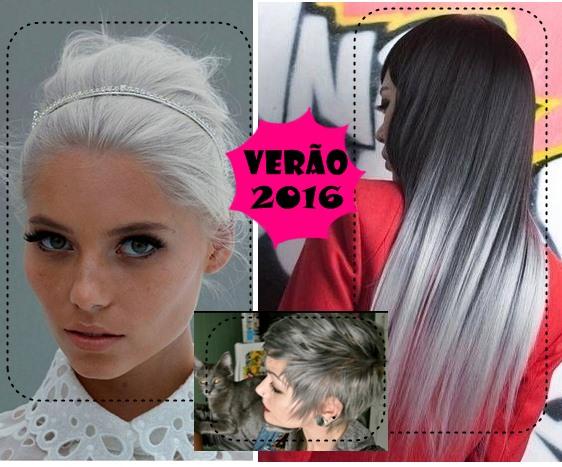 Branco, grisalho, cinza vai ter vez no verão 2016!