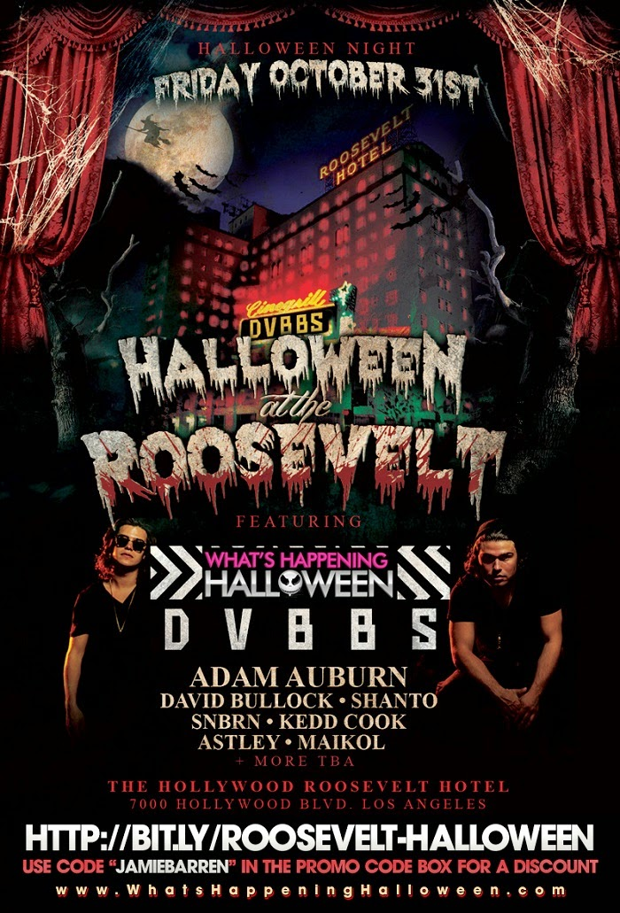 """Roosevelt Halloween 2014 Los Angeles"""