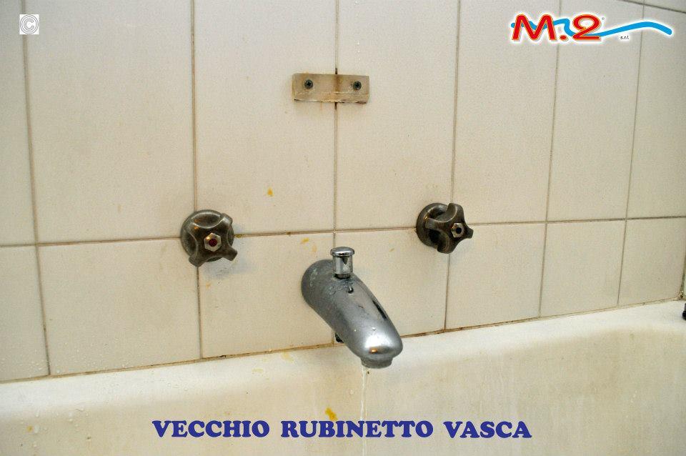Sostituire I Rubinetti Del Bagno : Sovrapposizione vasca con sostituzione miscelatore m