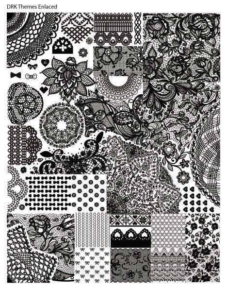 Lacquer Lockdown - DRK Nails, lace nail art stamping plates, lace nail art, lace, nail art stamping blog, nail art stamping, new stamping plates 2014, new nail art stamping plates 2014, nail art stamping, diy nail art, cute nail art ideas