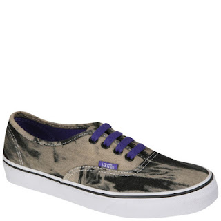 Vans Authentic Canvas Trainers - Acid Denim Black