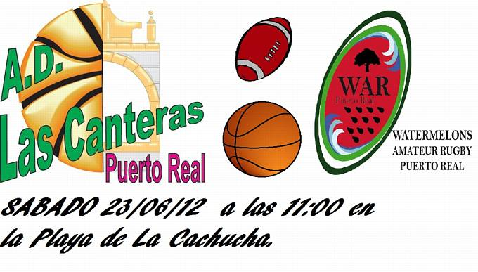 Vive el basket con eduardo burgos i convivencia basket rugby en puerto real - Las canteras puerto real ...