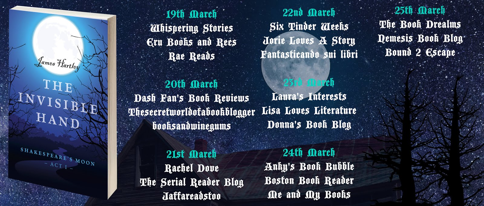 The Invisible Hand Blog Tour