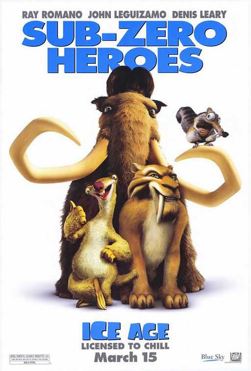 Ice Age 1 (2002) 720P BRRip Telugu X264 AC3
