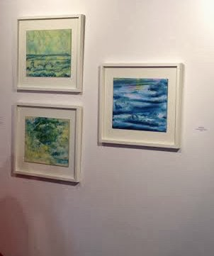 Margaret Ryall Sea and Sky series Leyton Gallery