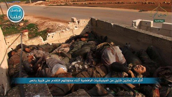 Jabhah Nushrah Bantai 80 Gabungan Milisi Syiah