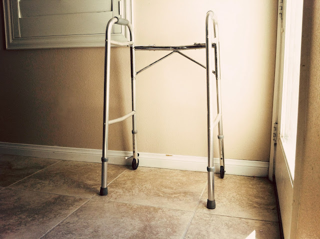 using a walker for MS