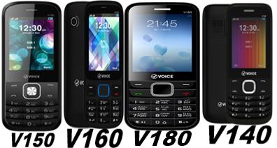 Voice Xtra V140,V150,V160,V180