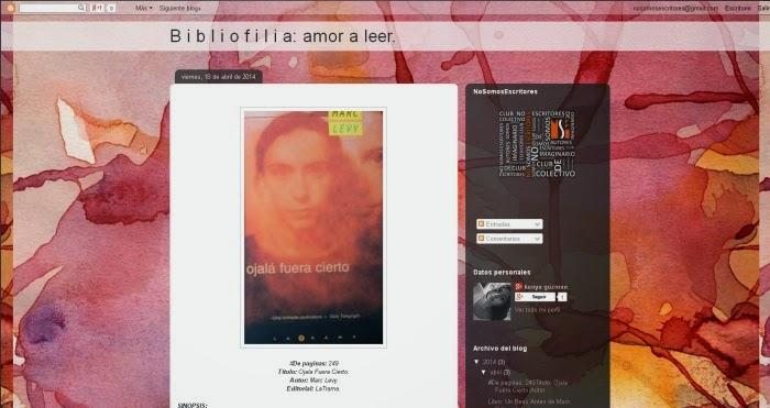 http://hayquevivirlavidaporqueesbella.blogspot.mx/