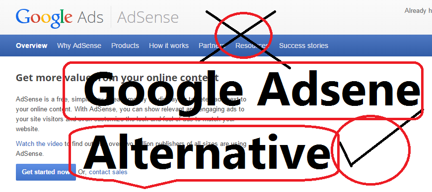 Top 50 Google Adsense Alternative Advertising Ad Network For