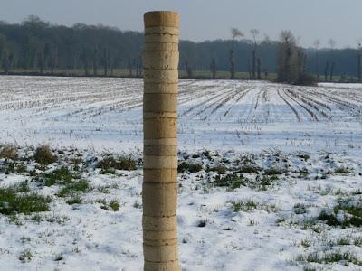 colonne en terre crue_modules en terre crue_montauban de bretagne