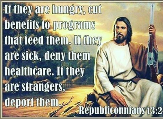 Christian Capitalist Jesus