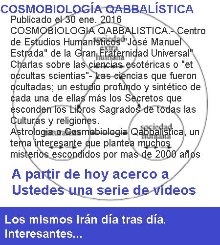 ATENCIÓN: a partir del día de la fecha se publican vídeos del tema...