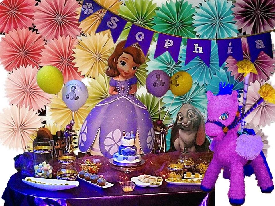 Fiestas Infantiles Princesa Sofia, parte 2