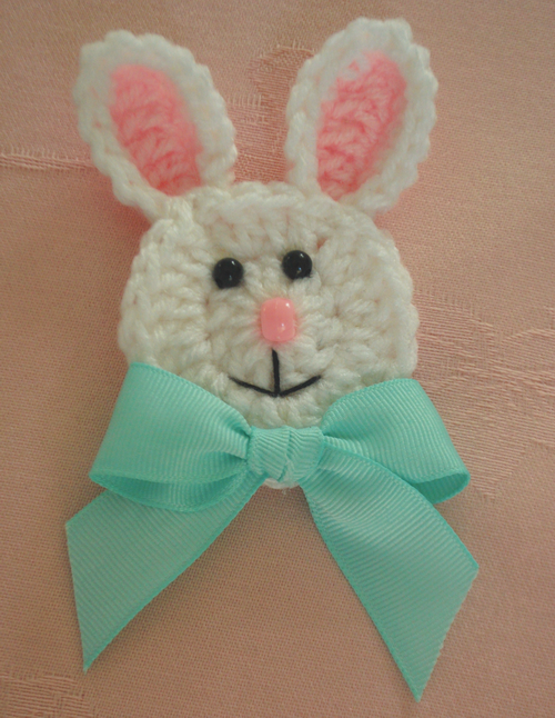Free Crochet Pattern For Bunny Pin : ToppyToppyKnits: Easter is around the corner