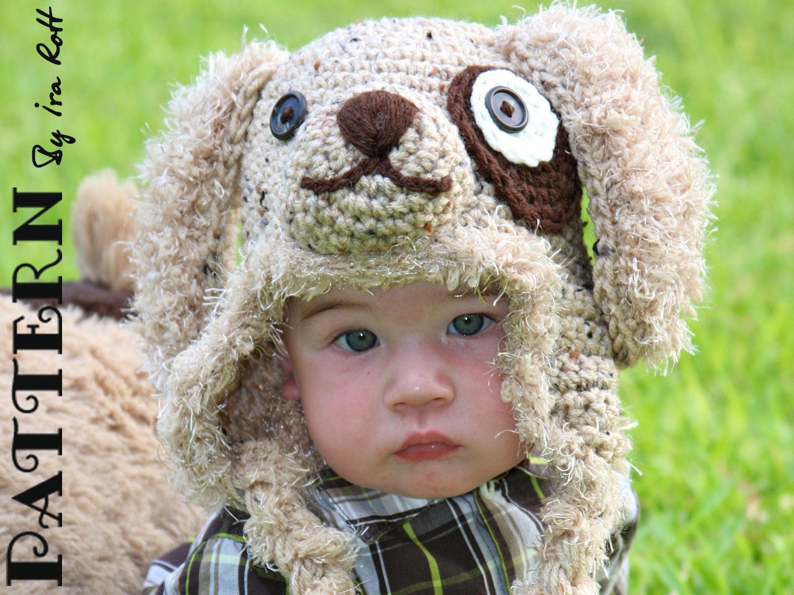 Fashion crochet design by ira rott pattern grommet puppy hat pattern grommet puppy hat crochet pdf pattern bankloansurffo Gallery