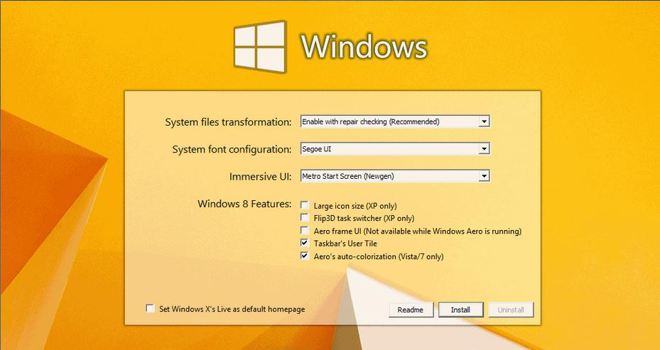 Free Download Windows 8 Transformation Pack