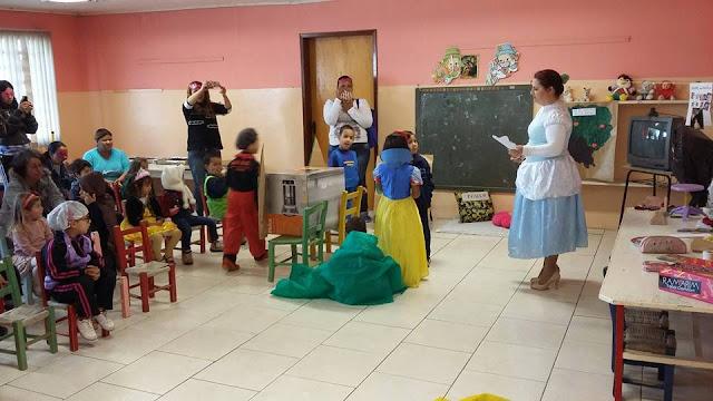 A hora do conto Dramatizações de Clássicos da Literatura na Educação Infantil