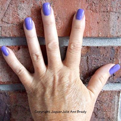 Pucci-licious Color Club Nail Polish on JaguarJulie's fingernails