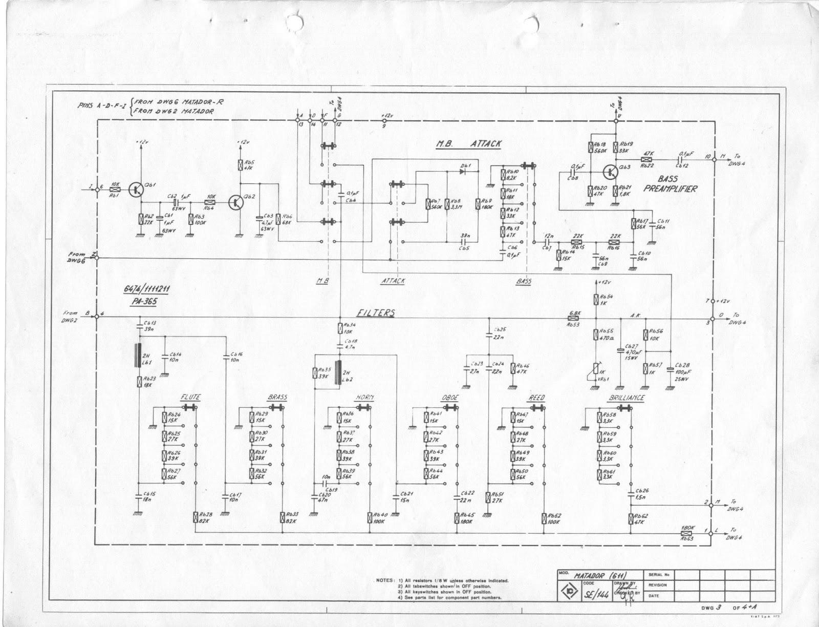 Schemi Elettrici Hi Fi : Npn circuit progetti elettronici & informatica: farfisa matador r