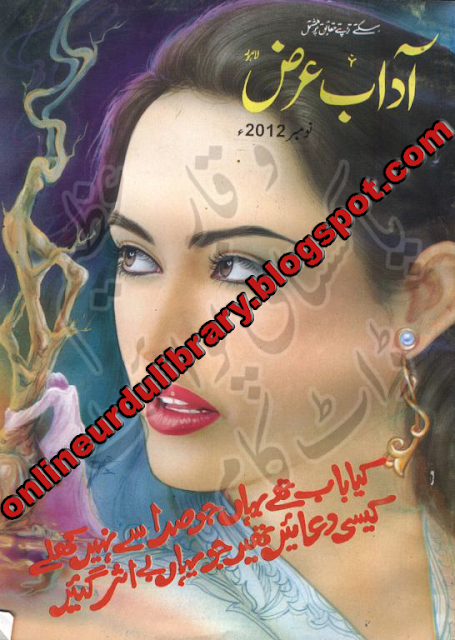 Monthly Aadab Arz Digest (November 2012)