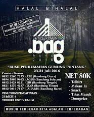 Halal Bihalal Lintas Komunitas Bandung, Puntang 23-24 Juli 2016