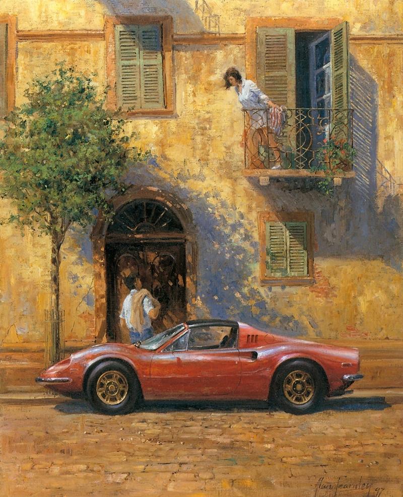 Alan Fearnley Alan+Fearnley+1942+-+British+Formula+One+painter+-+Tutt%27Art@+-