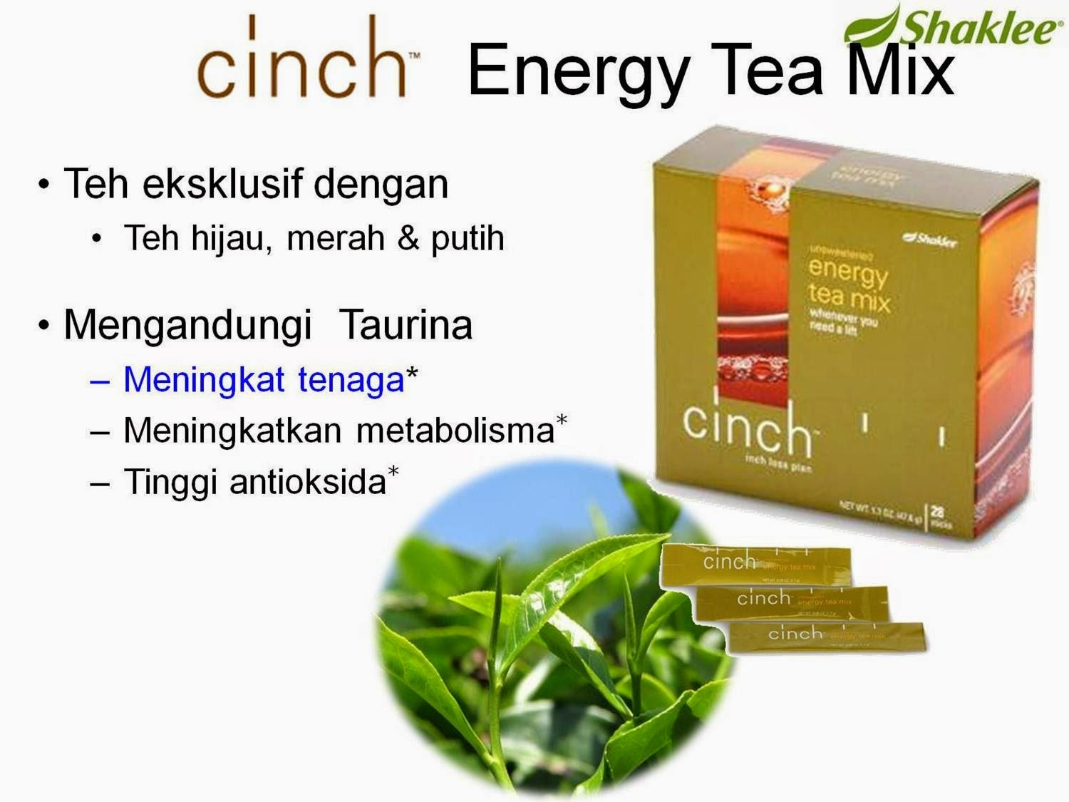 cinch tea , teh eksklusif