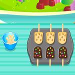 لعبة طبخ كعكة بالشيكولاتة