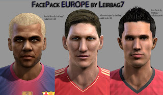 Download PES 2013 Facepack Europe by Leirbag7