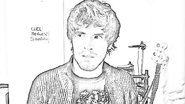 Pinto Dibujos: Hola soy Germán para colorear