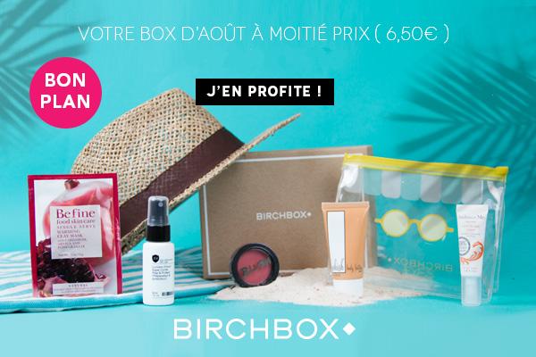 Offre Zankyou Birchbox 6,50€