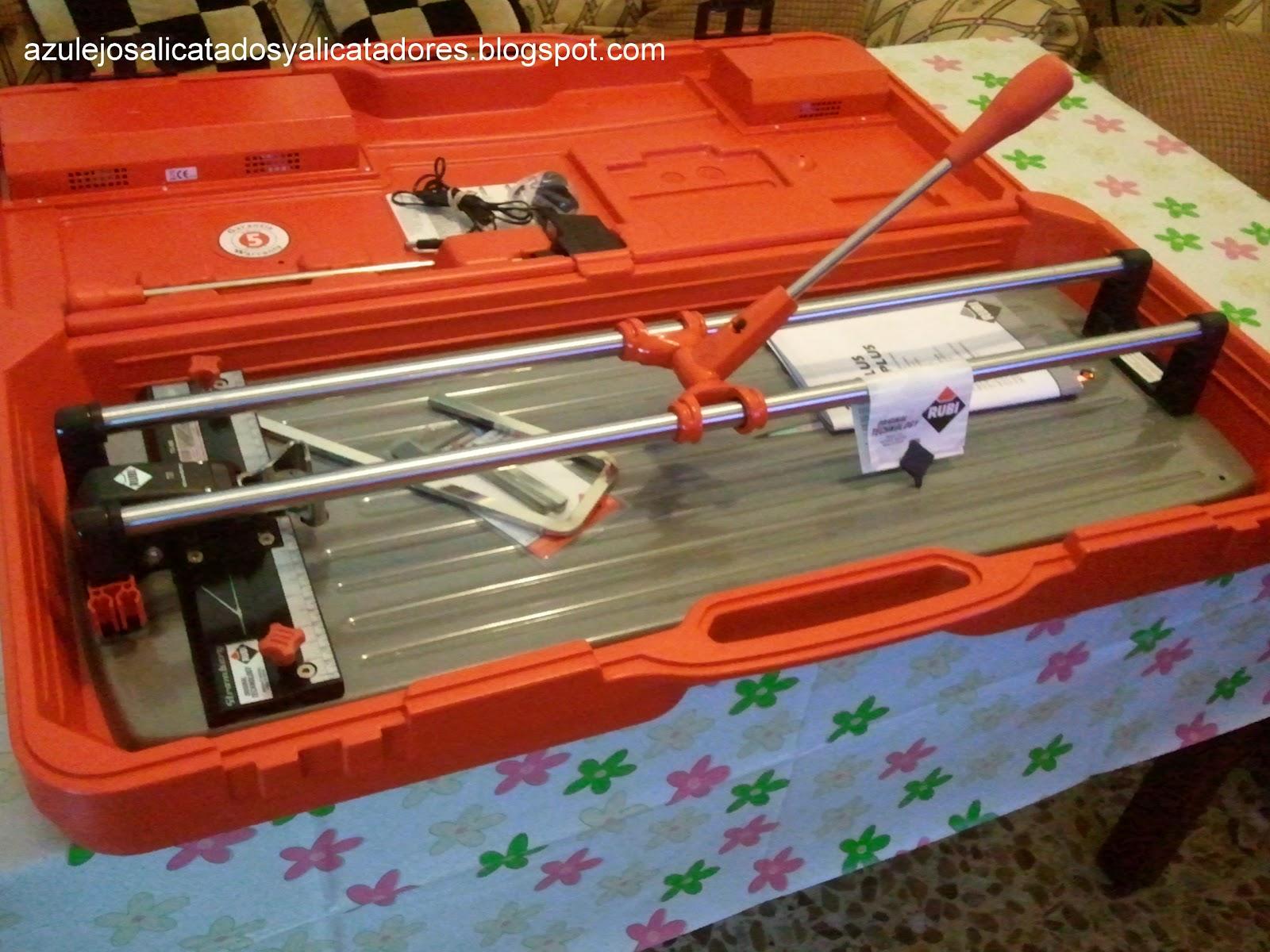 Maquina de cortar azulejos rubi