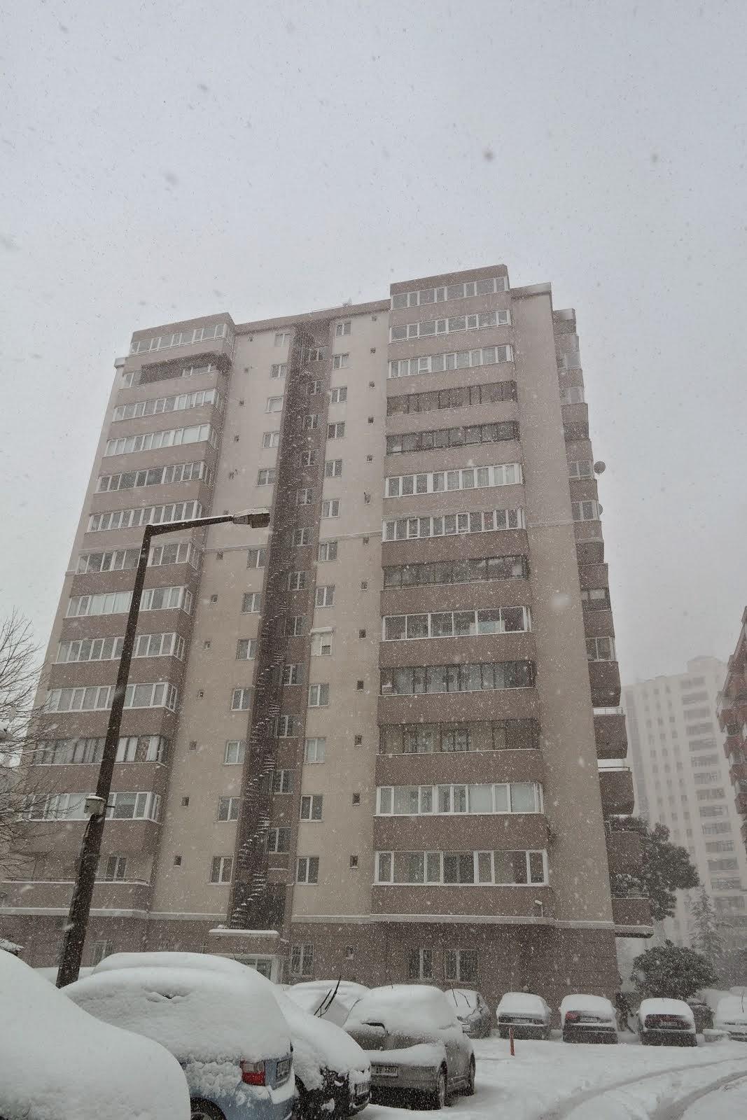 sümko sitesinde kış