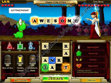 Free Download Games - Bookworm Adventures 2