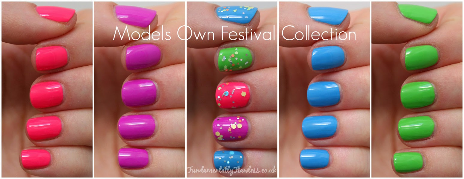 Models Own Festival Collection Swatches and Review