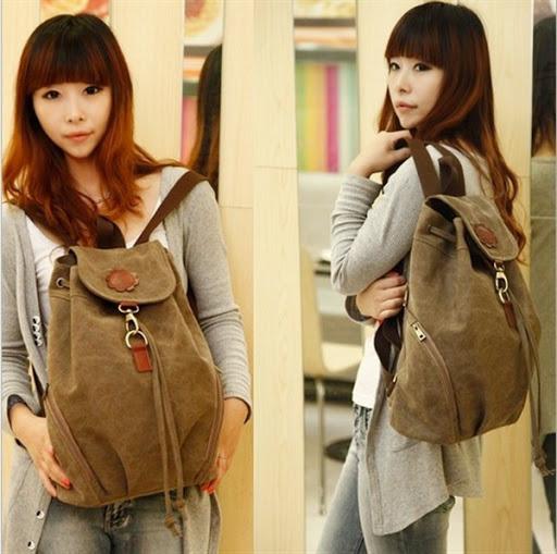 gambar model tas sekolah ala korea terbaru untuk perempuan