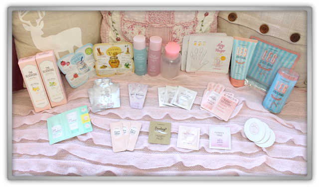 EtudeHouse2012 Mega Epic Etude House Super Haul Review Goodies kawaii cute pink ebay blooming leg remover mask help finger