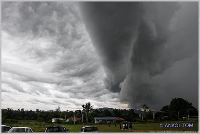 KOLEKSI GAMBAR AWAN ARCUS DI SABAH
