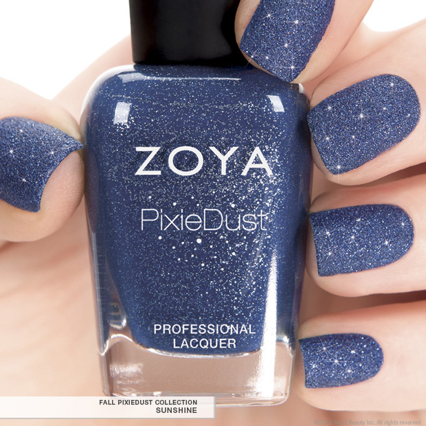 First Look  Zoya PixieDust in Sunshine - Fall 2013 EditionZoya Sunshine Pixie Dust