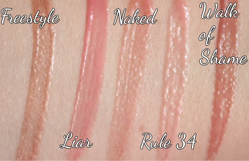 Urban Decay Naked Ultra Nourishing Lipglosses