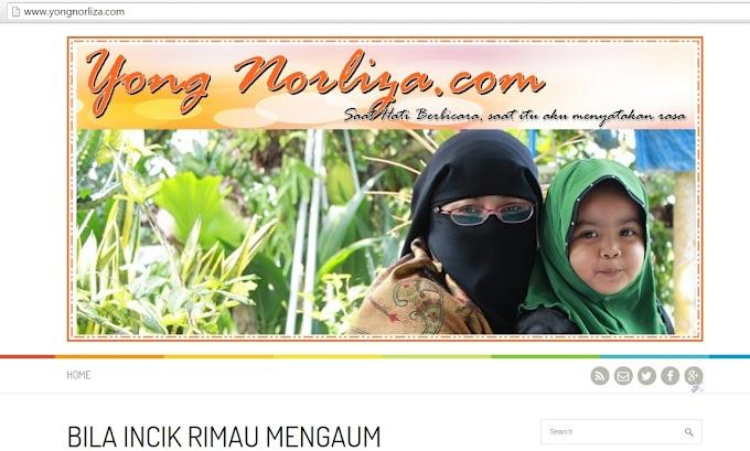 WELCOME TO YONG NORLIZA.COM
