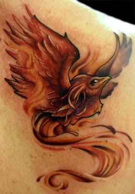 Dicas de Tatuagens de Fênix