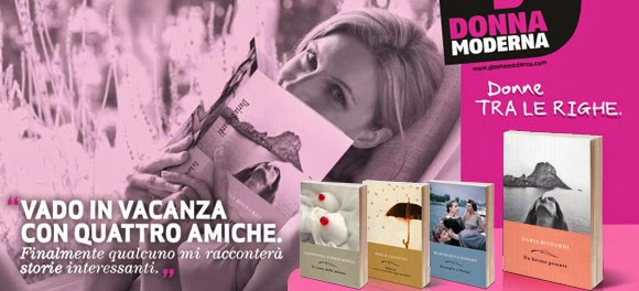 libri con donna moderna