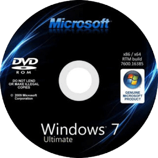 Windows 7 SP1 Ultimate (32 Bit)