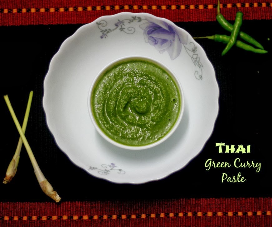 Nan's yum-yums!: How to Make Thai Green Curry Paste ...