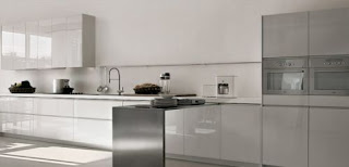 contemporary kitchen cabinets photo