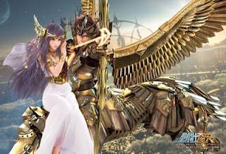 Caballeros del Zodíaco Leyenda del Santuario Seiya Sagitario